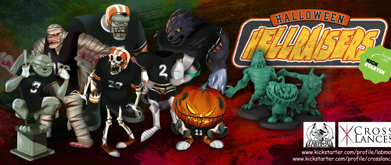Halloween Hellraisers – 2 teams for Fantasy Football